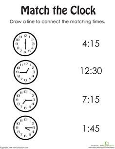 Telling time worksheets oclock and half past telling time in two ways worksheets 3 grade homework ibookread PDF